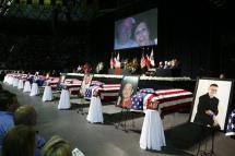 Memorial Service for Fallen West, Texas Firefighters