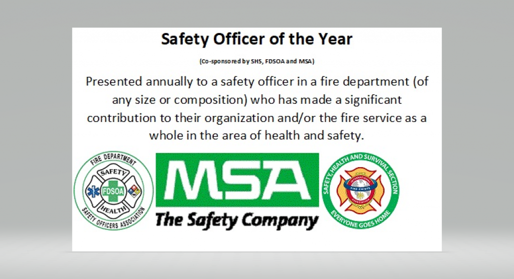 Safety, Health and Survival Section (SHSS) Annual  Awards